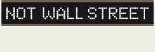 Logo: Not Wall Street